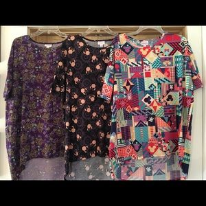 3 Disney LuLaRoe Irma Small Medium